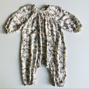 Ouch Baby Floral Baby Romper Viscose Newborn